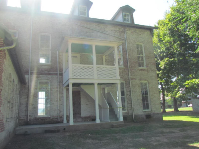 Beautiful Holt Home back stair tower replica rebuilt!